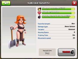 update valk - Parliamo di truppe: valchirie e bocciatori!